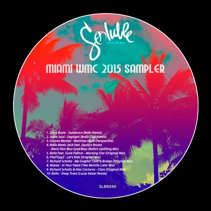 Miami WMC Sampler 2015